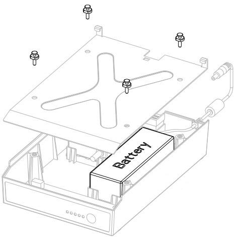 HONEYWELL Datamax MPU-4000 Battery Pack - Externer Batteriensatz