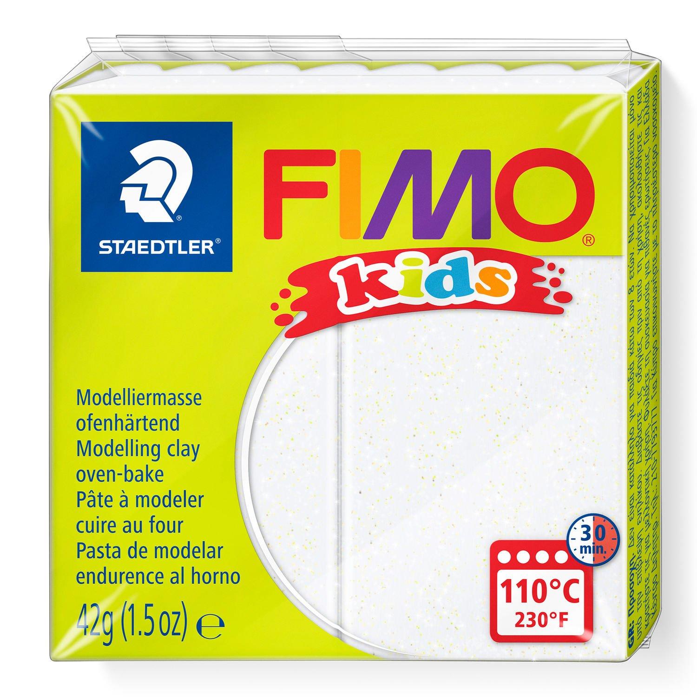 STAEDTLER FIMO 8030 - Knetmasse - Weiß - Kinder - 1 Stück(e) - Glitter white - 1 Farben