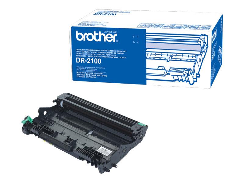 Brother DR2100 - Original - Trommeleinheit - für Brother DCP-7030, 7040, 7045, HL-2140, 2150, 2170, MFC-7320, 7440, 7840