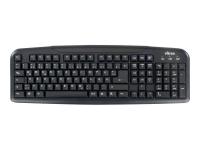76801 Tastatur USB Schwarz