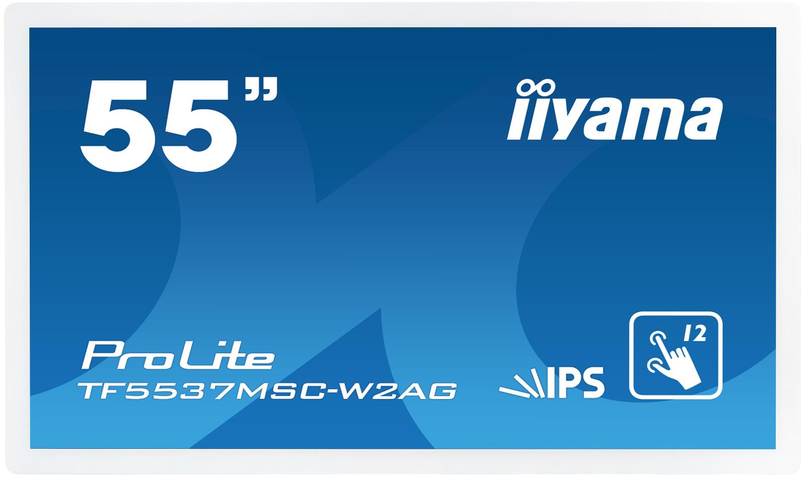 Iiyama ProLite TF5537MSC-W2AG - 138.8cm/55 Klasse LED-Display - mit Touchscreen