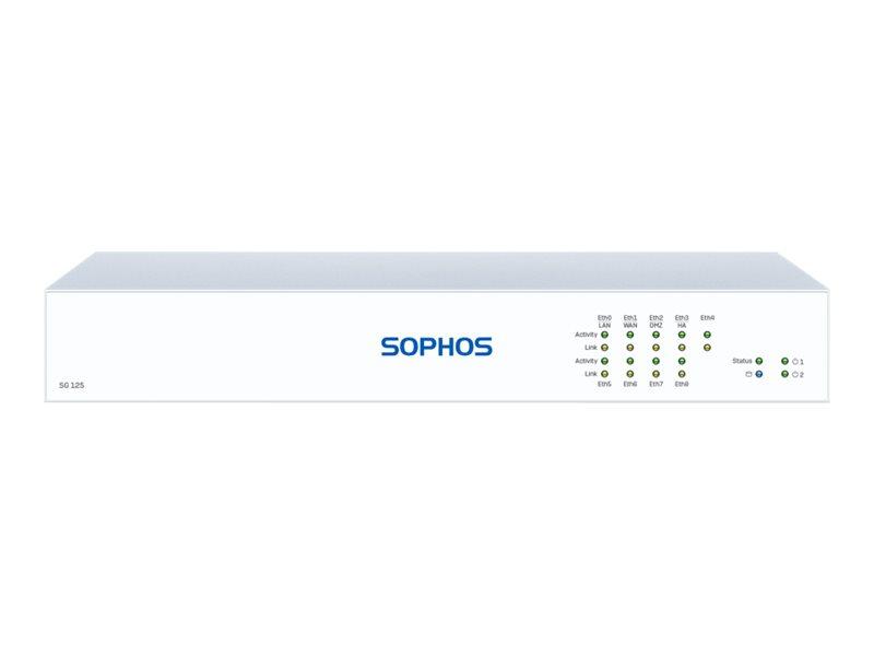 Vorschau: Sophos SG 125 - Rev 3 - Sicherheitsgerät - mit 1 Jahr TotalProtect