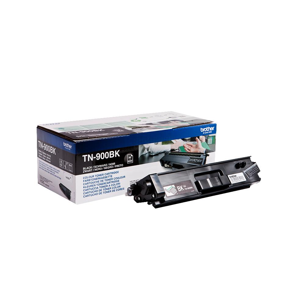 Brother TN-900BK Laser cartridge 6000Seiten Schwarz Lasertoner / Patrone