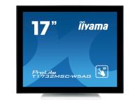 ProLite T1732MSC-W5AG Touchscreen-Monitor 43,2 cm (17 Zoll) 1280 x 1024 Pixel Weiß Multi-touch