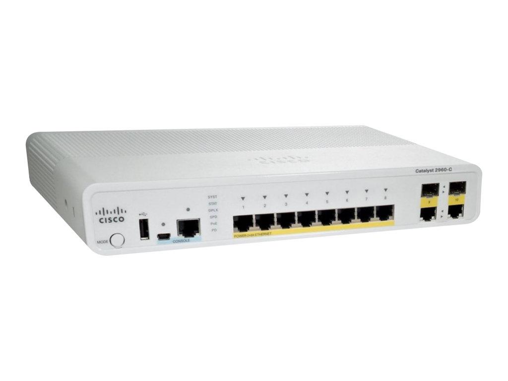 Cisco Catalyst 2960C-8PC-L Switch (WS-C2960C-8PC-L)