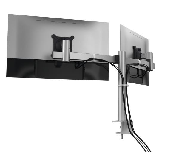 Durable 508523 - Klemme - 8 kg - 53,3 cm (21 Zoll) - 68,6 cm (27 Zoll) - 100 x 100 mm - Silber