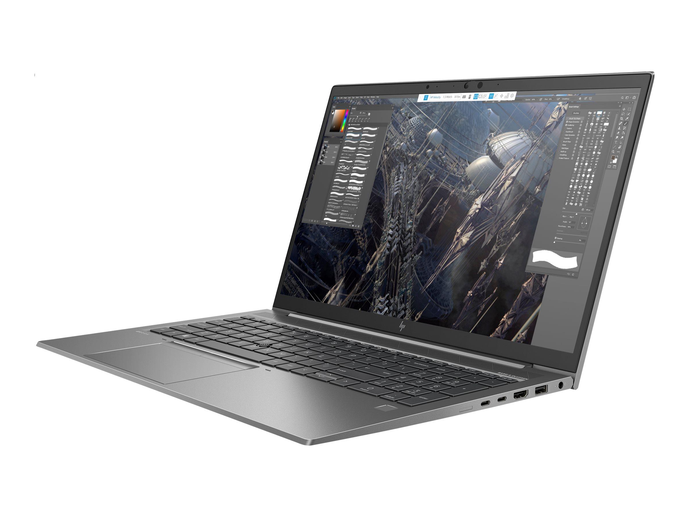 "HP ZBook Firefly 15 G7 Mobile Workstation - Core i7 10510U / 1.8 GHz - Win 10 Pro 64-Bit - 16 GB RAM - 512 GB SSD NVMe, TLC - 39.62 cm (15.6"")"