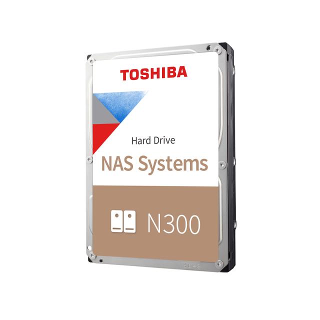 "Toshiba N300 NAS - Festplatte - 8 TB - intern - 3.5"" (8.9 cm)"