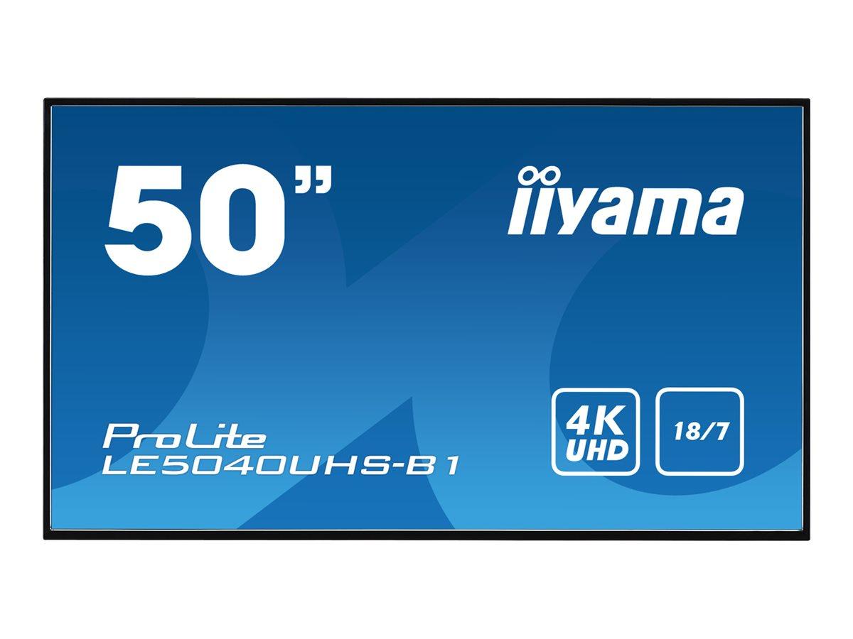 """Iiyama ProLite LE5040UHS-B1 - 127 cm (50"""") Klasse LED-Display - Digital Signage - 4K UHD (2160p)"""