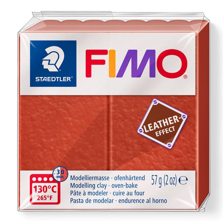 Vorschau: STAEDTLER FIMO 8010 - Knetmasse - Rot - Erwachsene - 1 Stück(e) - Rust - 1 Farben