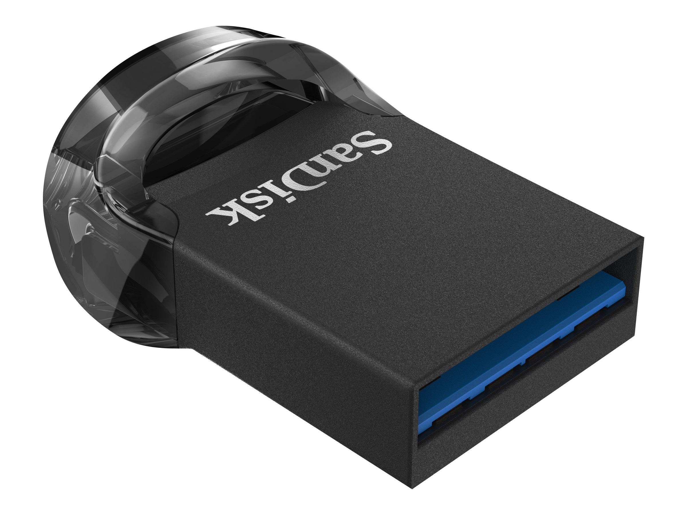 SanDisk Ultra Fit - USB-Flash-Laufwerk - 16 GB