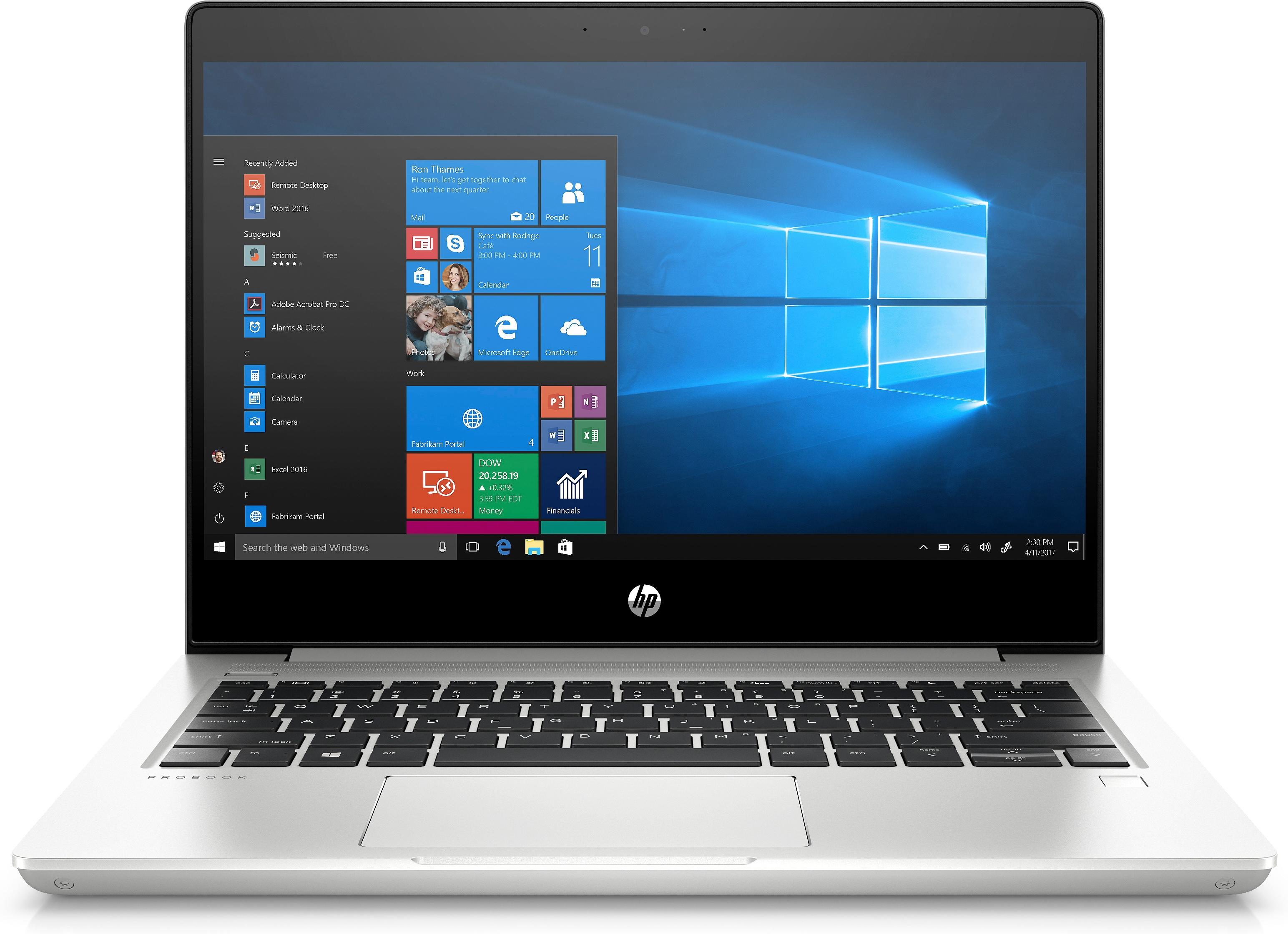 HP ProBook 430 G6 - Intel® Core™ i7 der achten Generation - 1,8 GHz - 33,8 cm (13.3 Zoll) - 1920 x 1080 Pixel - 16 GB - 1256 GB