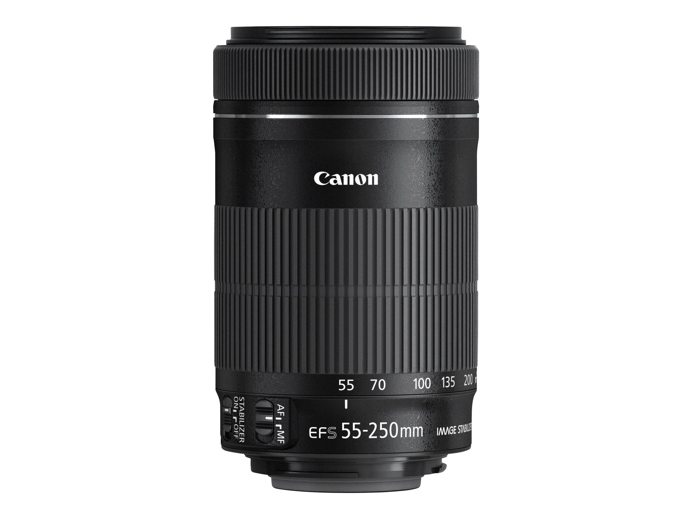 Canon EF-S - Telezoomobjektiv - 55 mm - 250 mm