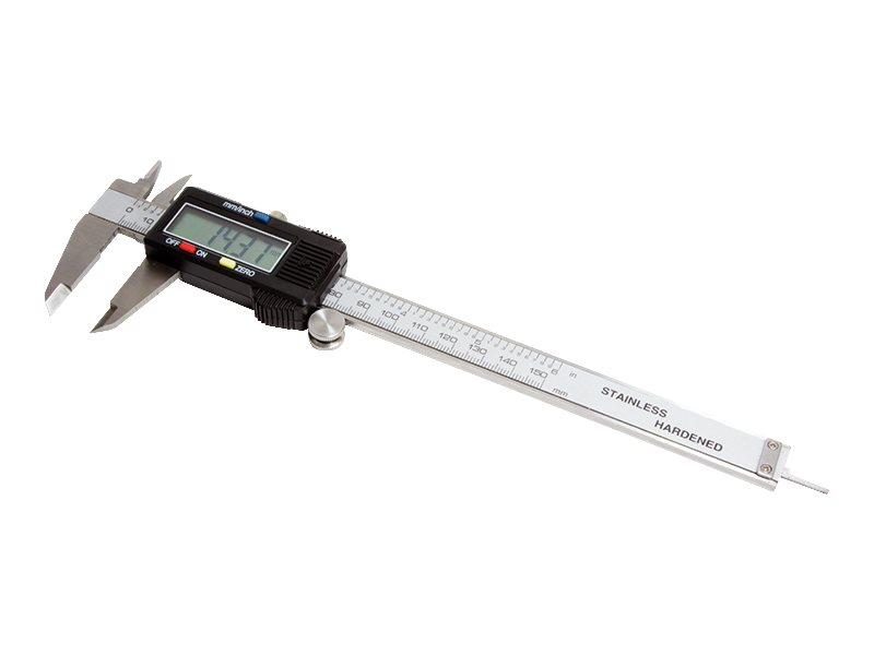 LogiLink Digitaler Messschieber - 150 mm / 6 Zoll