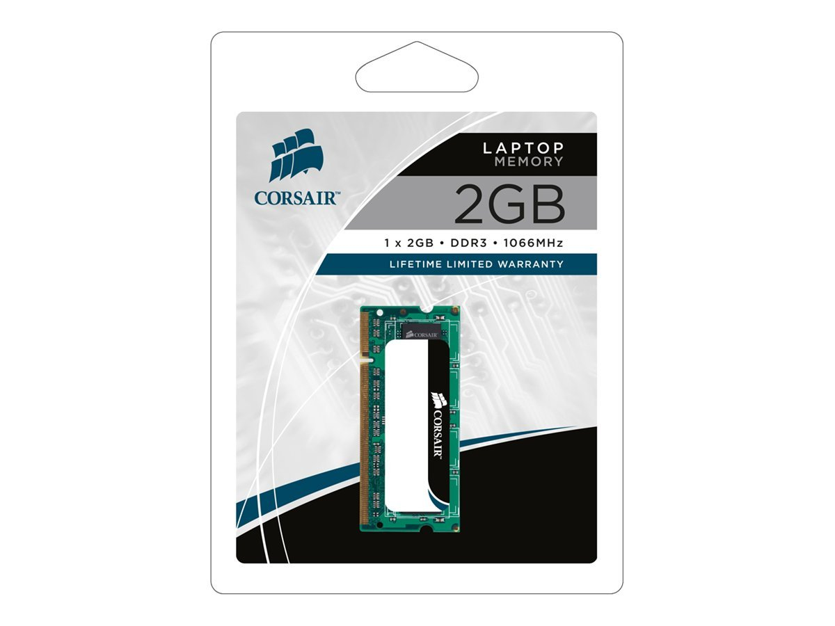 Corsair DDR3 - 2 GB - SO DIMM 204-PIN