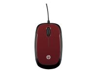 X1200 Maus mit Kabel - Flyer Red
