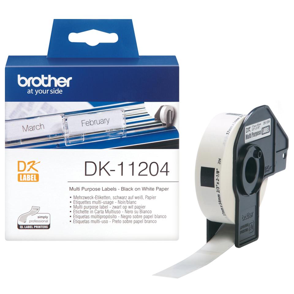 Brother Mehrzwecketiketten Etiketten / Beschriftungsbänder - 170x540 mm