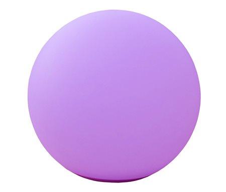 Telefunken T90222 - Außen-Bodenbeleuchtung - Violett - Kunststoff - IP67 - Garten - 8 Glühbirne(n)