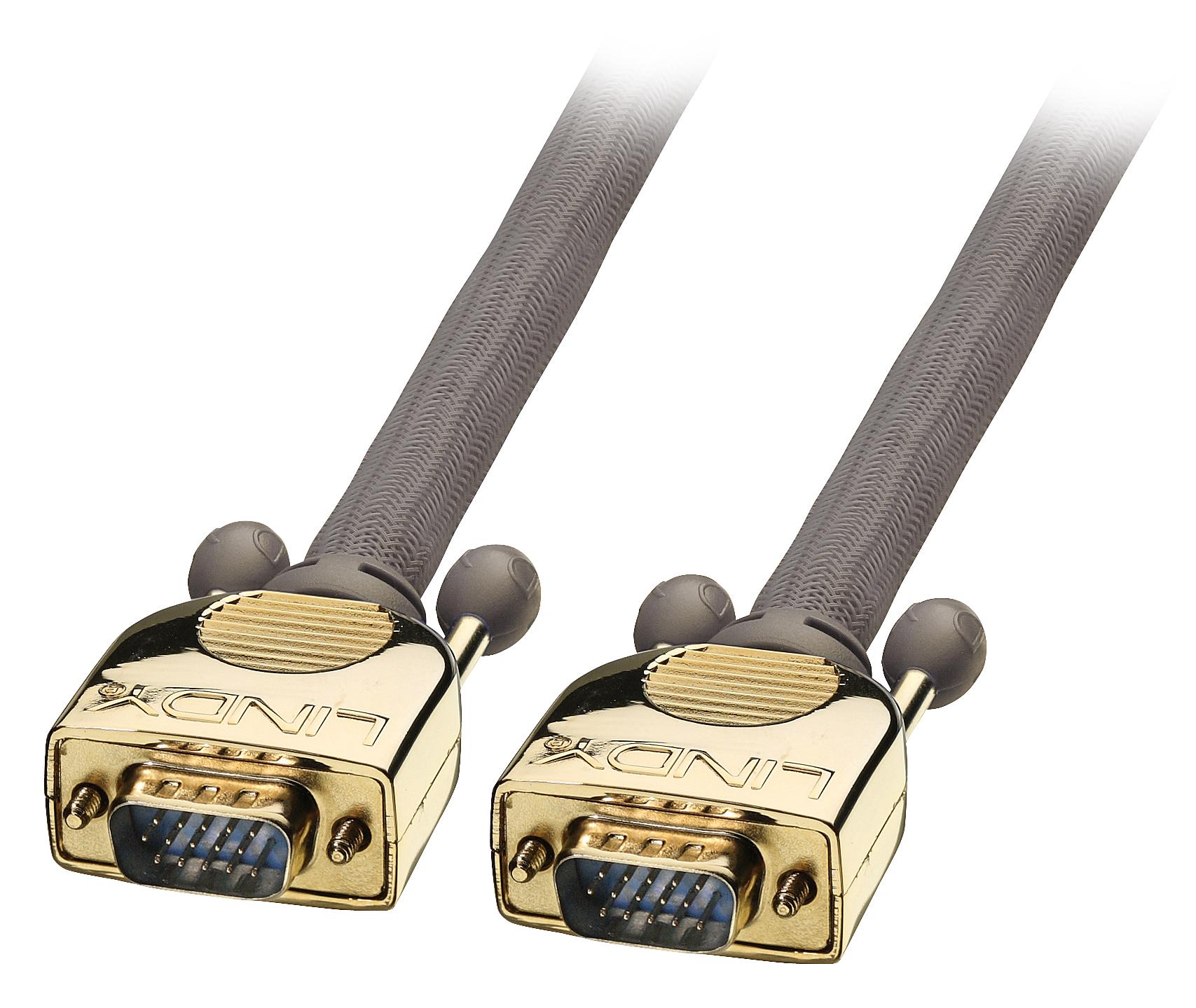 Lindy Premium Gold - VGA-Kabel - HD-15 (M)