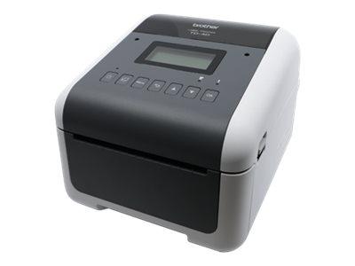 Brother TD-4550DNWB - Etikettendrucker - Thermopapier - Rolle (11,8 cm)
