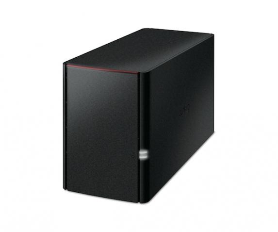 Buffalo LinkStation 220 - 8TB Speicherserver Eingebauter Ethernet-Anschluss Schwarz