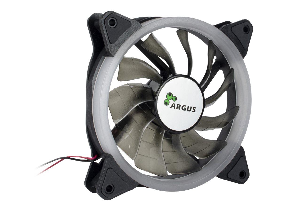 Inter-Tech Argus RS-051 RGB - Gehäuselüfter - 120 mm