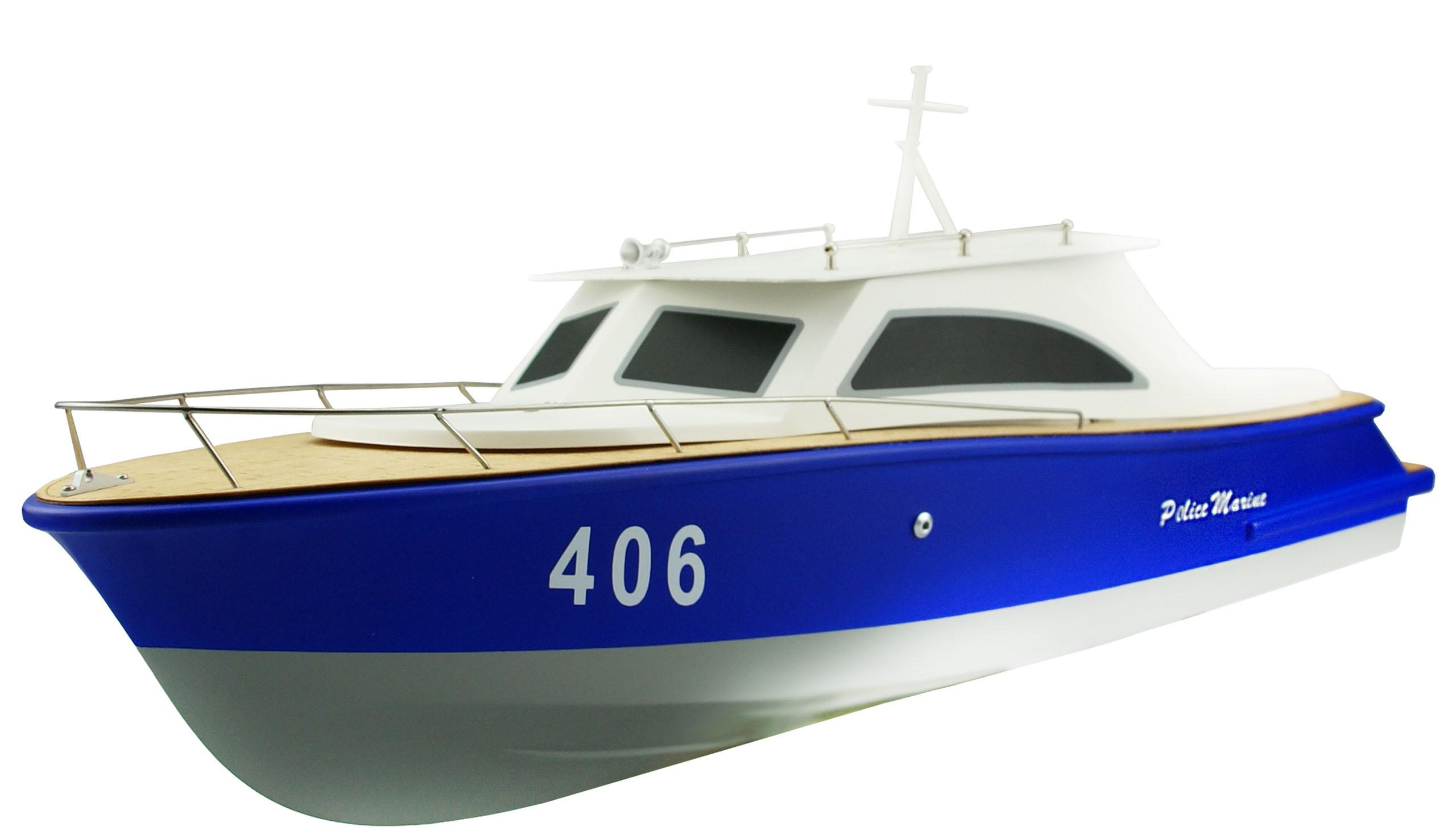 Amewi 26040 - Betriebsbereit (RTR) - Blau - Weiß - Boot - Elektromotor
