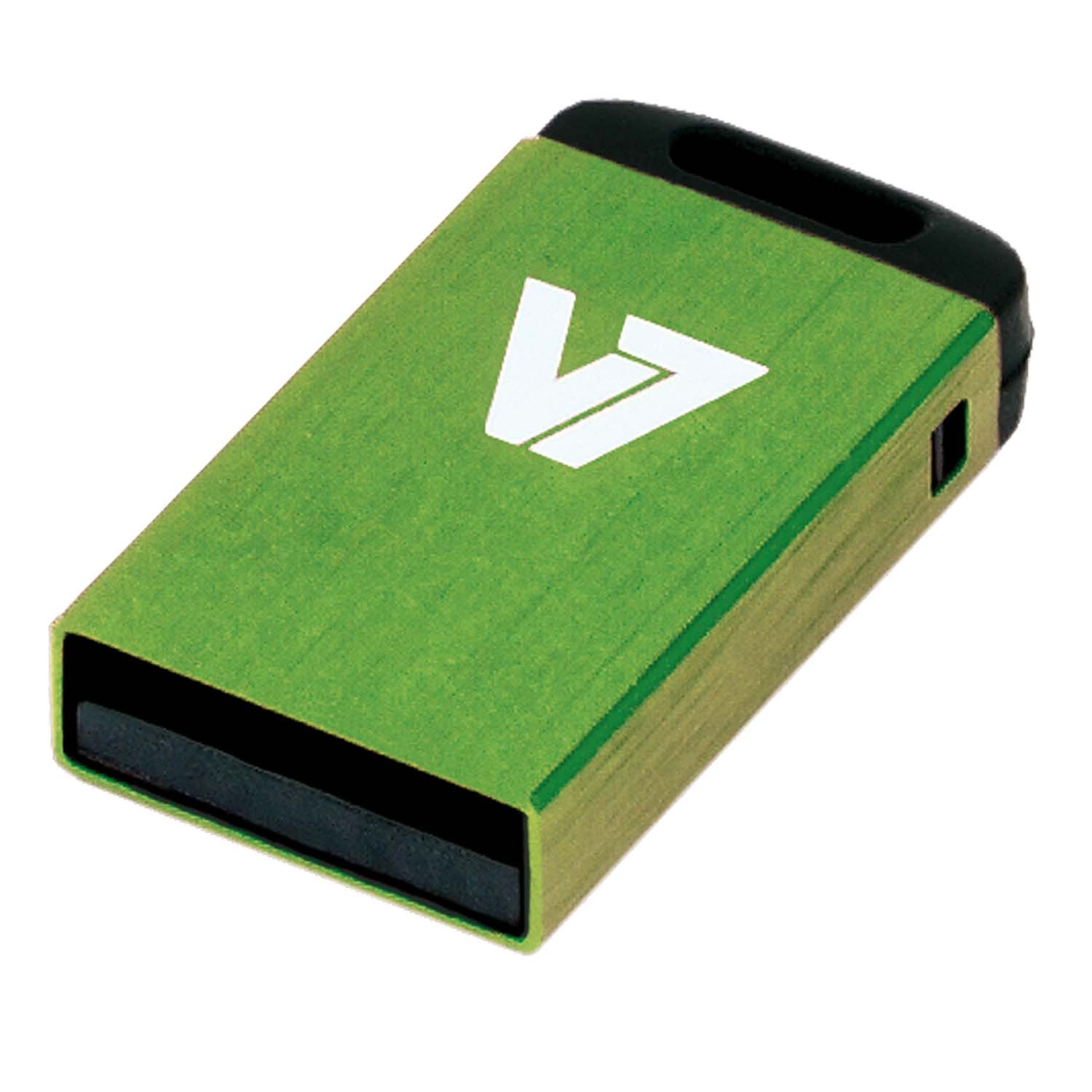V7 VU232GCR-GRE-2E - Nano USB-Flash-Laufwerk - 32 GB