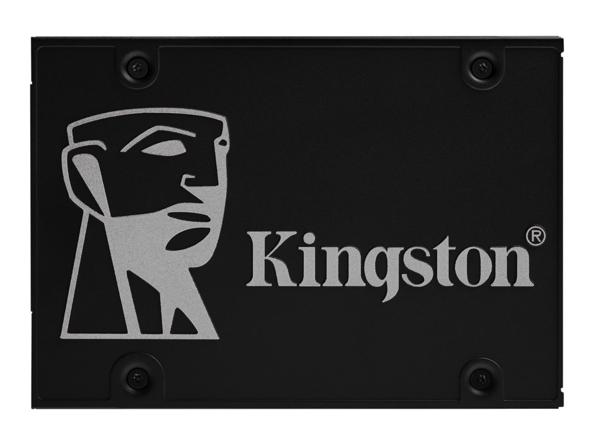 "Kingston KC600 - 1 TB SSD - intern - 2.5"" (6.4 cm)"
