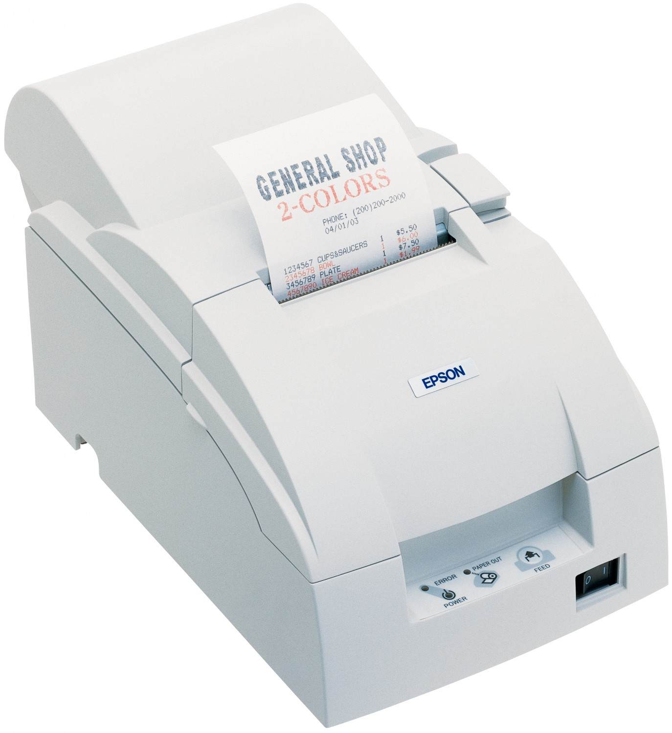 Epson TM-U220A Punktmatrix POS printer Weiß