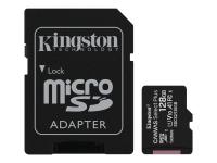 Canvas Select Plus - Flash-Speicherkarte (microSDXC-an-SD-Adapter inbegriffen) - 128 GB