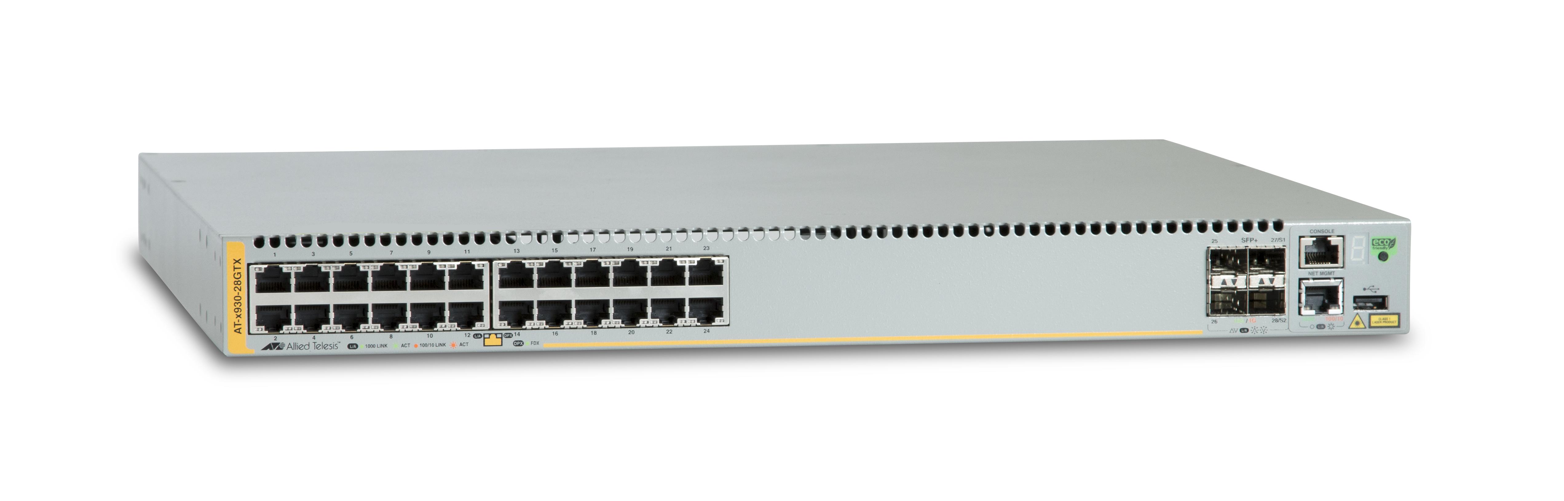 Allied Telesis AT x930-28GTX - Switch - L3