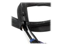 KAB0049 Kabelschutz Kabelmanagement Schwarz