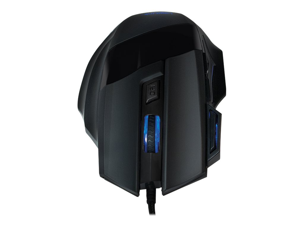 LogiLink Gaming combo set - Maus - ergonomisch
