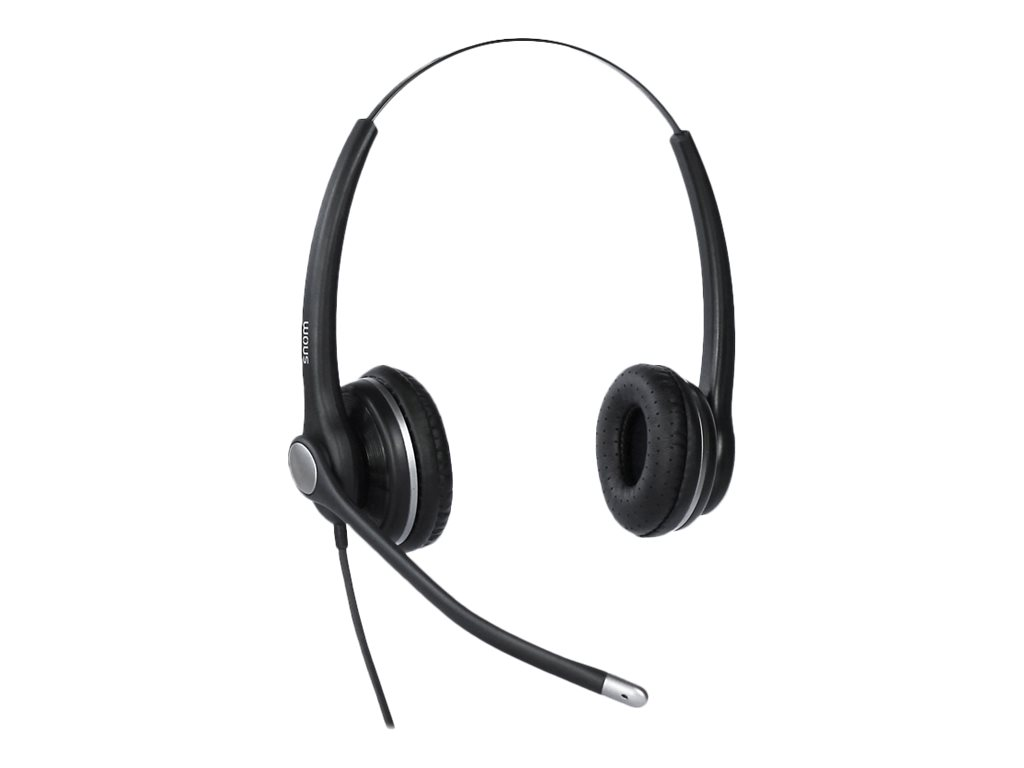 Snom A100D - Headset - On-Ear - Stereo - kabelgebunden - USB
