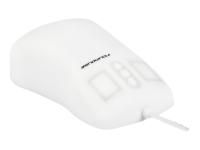 TKH-MOUSE-SCROLL-IP68-WHITE-LASER-USB Maus 1000 DPI Beidhändig