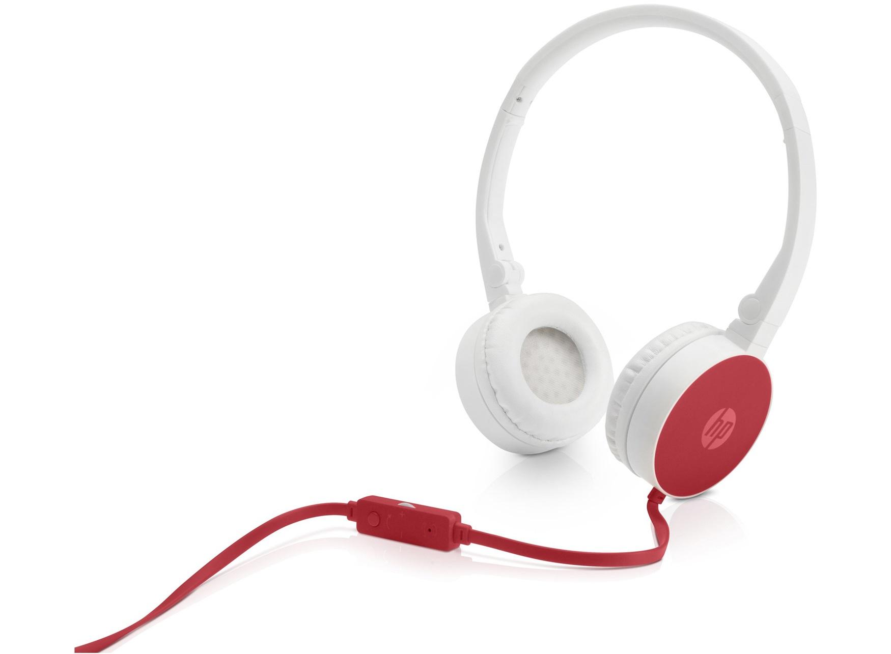 HP H2800 - Kopfhörer mit Mikrofon - On-Ear