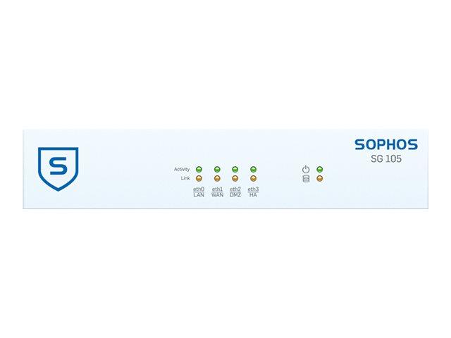 Sophos SG 105 - Sicherheitsgerät - mit 2 Jahre TotalProtect