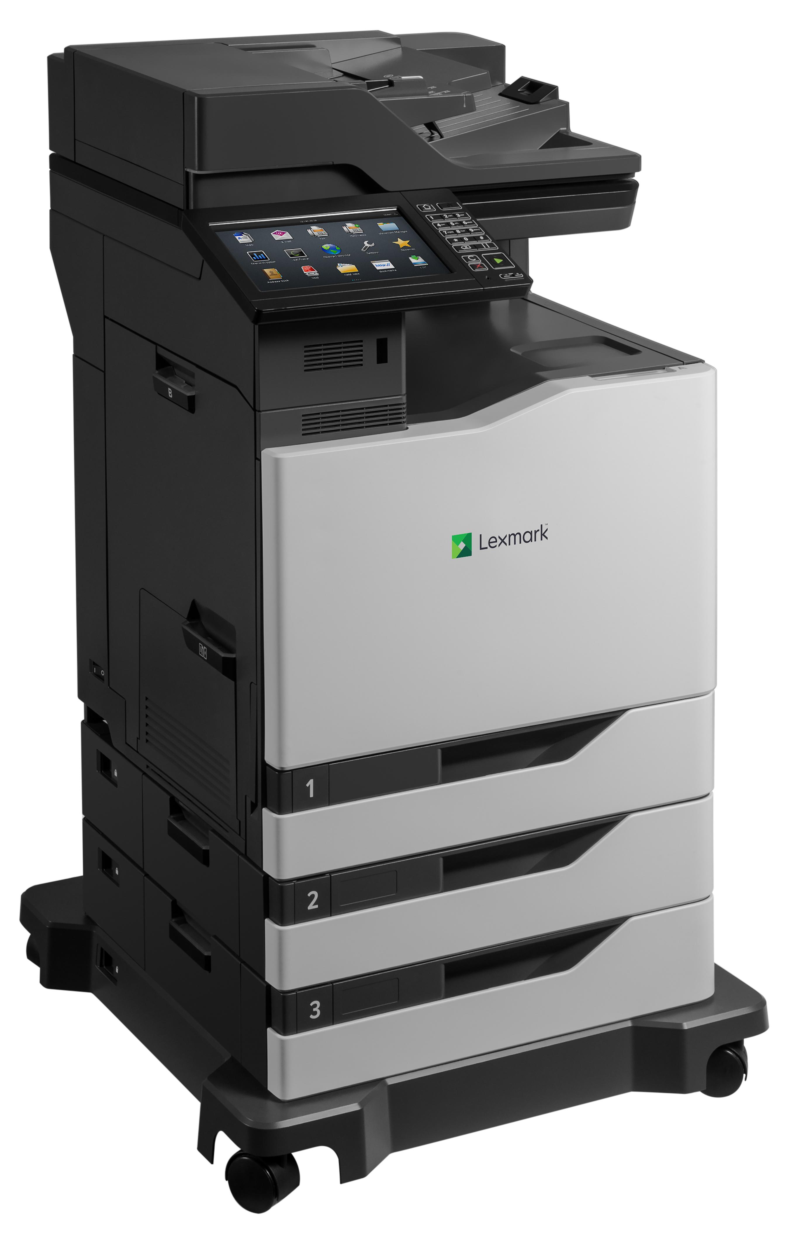 Lexmark CX825dte - Multifunktionsdrucker - Farbe