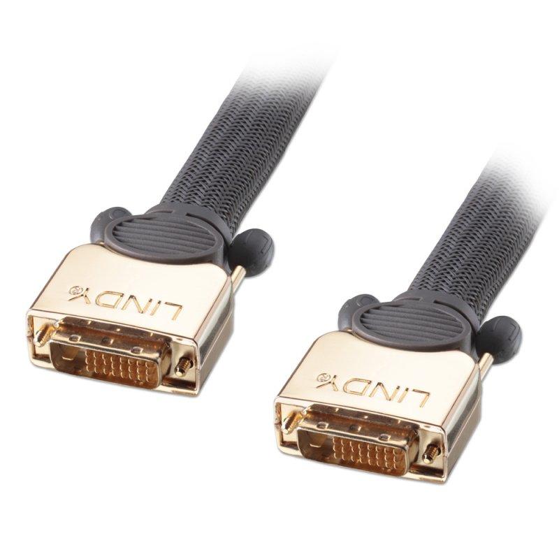 Lindy Premium Gold Super Long Distance - Videokabel - DVI