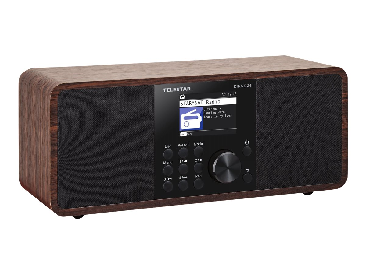 Telestar DIRA s 24i - Netzwerk-Audioplayer / DAB-Radiotuner - 30 Watt (Gesamt)
