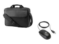 15.6 Prelude Top Load w/Mouse Bundle Notebooktasche 39,6 cm (15.6 Zoll) Aktenkoffer Schwarz