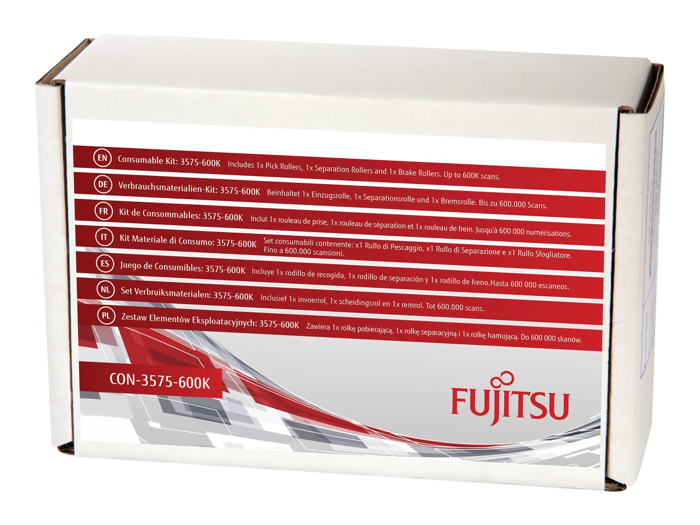 Fujitsu Consumable Kit: 3575-600K - Scanner - Verbrauchsmaterialienkit