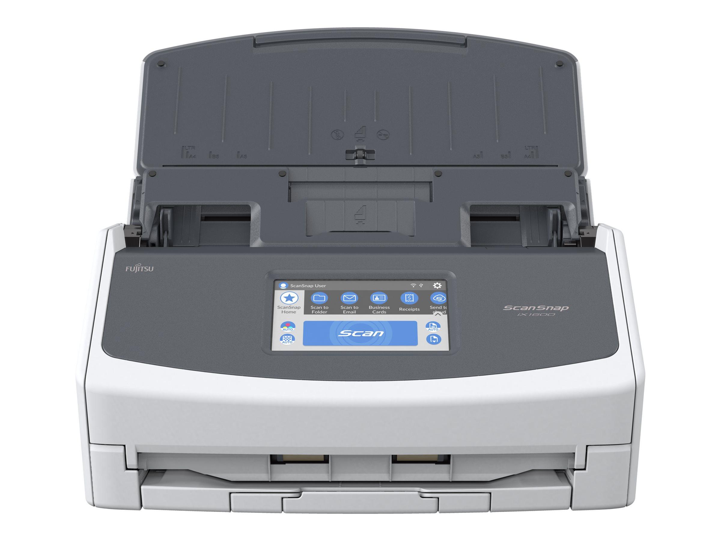 Fujitsu ScanSnap iX1600 - Dokumentenscanner - Dual CIS - Duplex - 279 x 432mm - 600 dpi x 600 dpi - bis zu 40 Seiten/Min