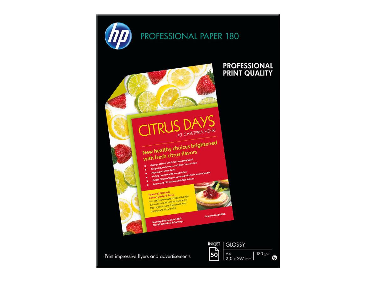 HP Glänzend - glänzend - A4 (210 x 297 mm) 50 Blatt Papier