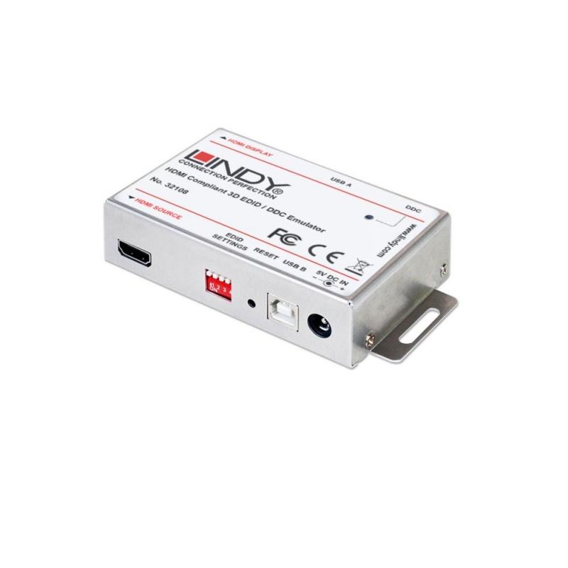 Lindy HDMI EDID Emulator - EDID-Leser/Schreiber - HDMI