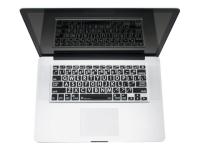 LogicSkin - Tastaturschutz für Notebooks - durchsichtig, Weiß auf Schwarz