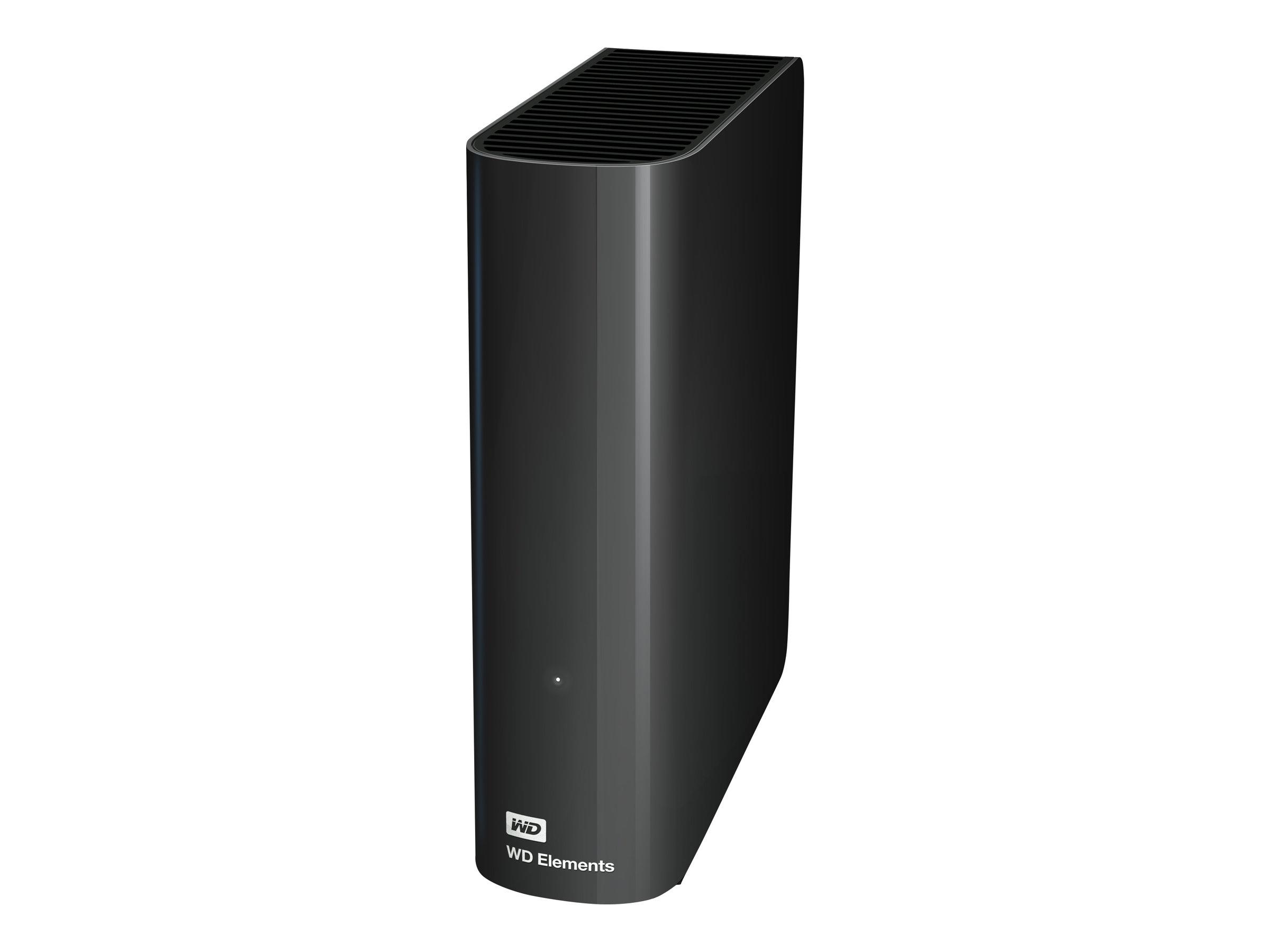 Vorschau: WD Elements Desktop WDBWLG0030HBK - Festplatte - 3 TB - extern (Stationär)