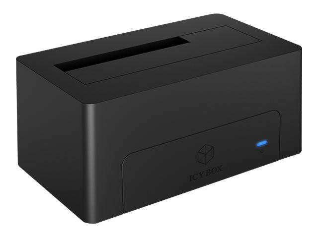 """ICY BOX ICY BOX IB-1121-C31 - HDD-Dockingstation mit blaue LED vorn, lüfterlos Schächte: 1 - 2,5"""" / 3,5"""" gemeinsam genutzt (6,4 cm/8,9 cm gemeinsam genutzt)"""