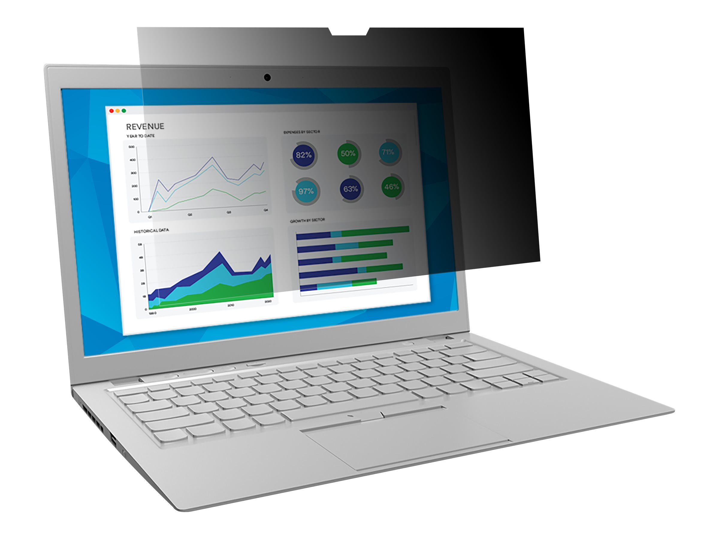 "3M Blickschutzfilter for 14.0"" Widescreen Laptop with COMPLY Attachment System - Blickschutzfilter für Notebook - 35,6 cm Breitbild (14"" Breitbild)"